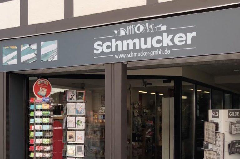 Schmucker Kochen und Genießen in Michelstadt Odenwald am alten Rathaus Einkaufen in Michelstadt